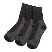 UMBRO Wool sock 3 pk Sort 40-43 3 PCK Strømper i ull- kvalitet.